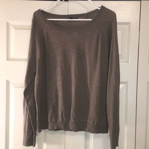 Light gray/charcoal Banana Republic sweater